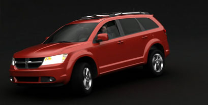 Dodge Journey 4WD 3D presentation