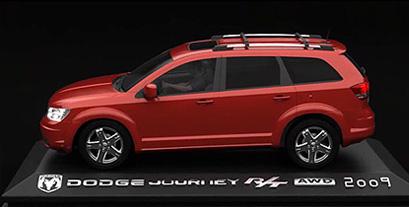 Dodge Journey 4WD 3D presentation